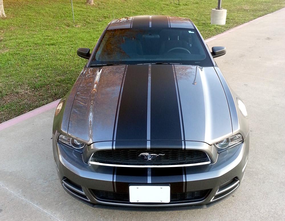 Auto Wrap Mustang Hood