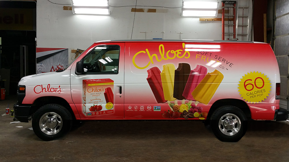 Auto Wraps Choles Van