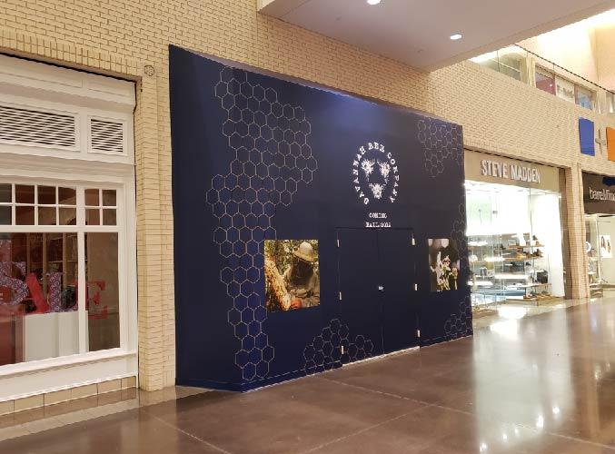 Barricade & Wall Graphics Savanna Bee Company
